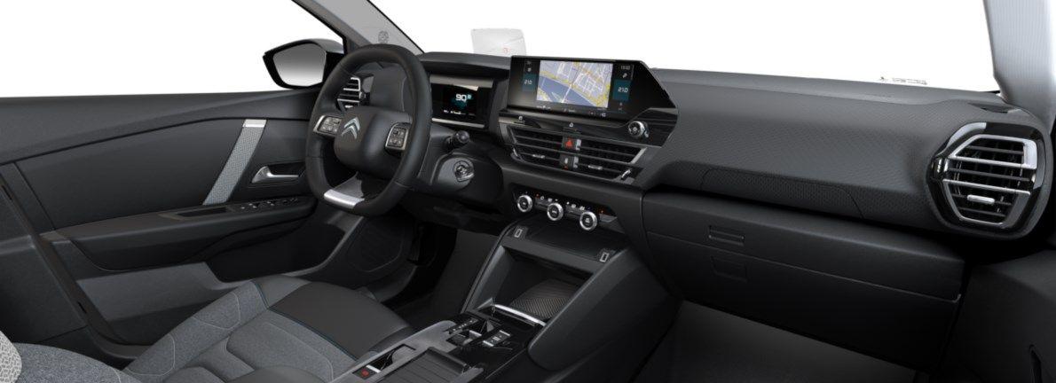 Nieuw Citroen New C4 BERLINE 5 PORTES MOYENNE HAUTE EB2ADTS/EU63 1200 3 EAT8 Gris Platinium (M0VL) 11