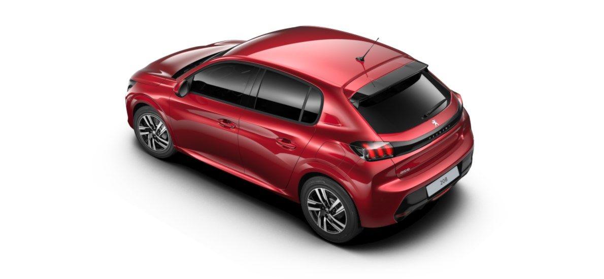 Nieuw Peugeot New 208 Berline 5 portes Allure Pack 1.2 PureTech 100ch S&S Manuelle 6 vitesses Rouge Elixir (M5VH) 4