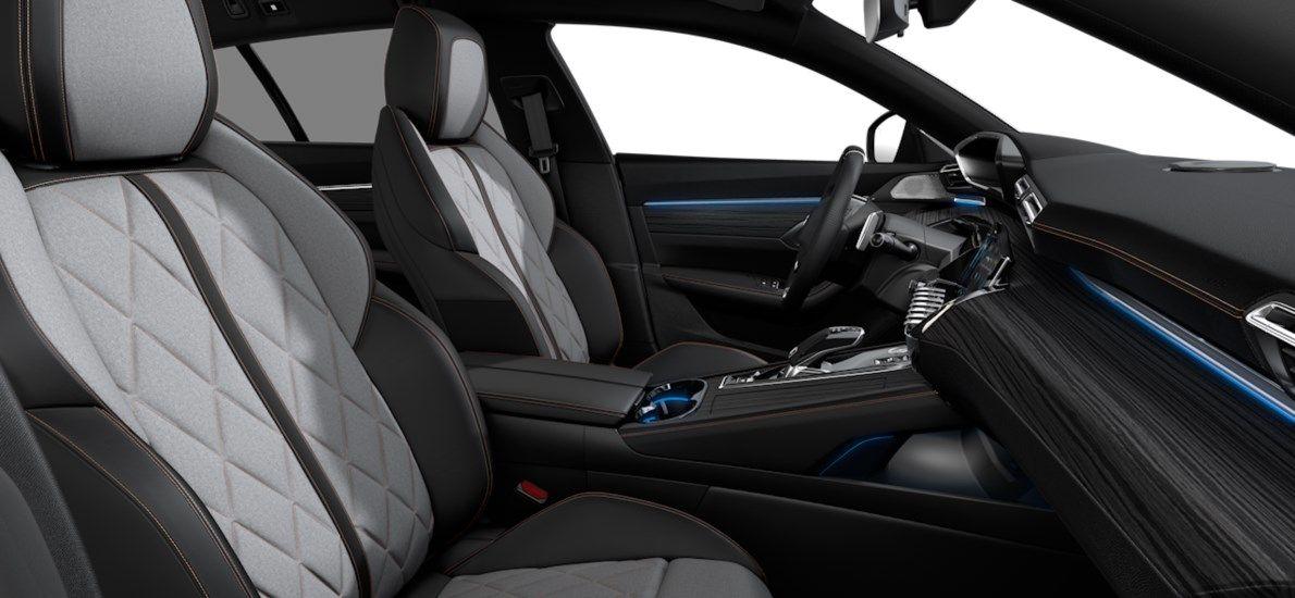 Nieuw Peugeot 508 SW GT Pack Hybrid 1.6 Hybrid 225 4X2 AUTOMATIQUE 8 RA Noir Perla Nera (M09V) 11