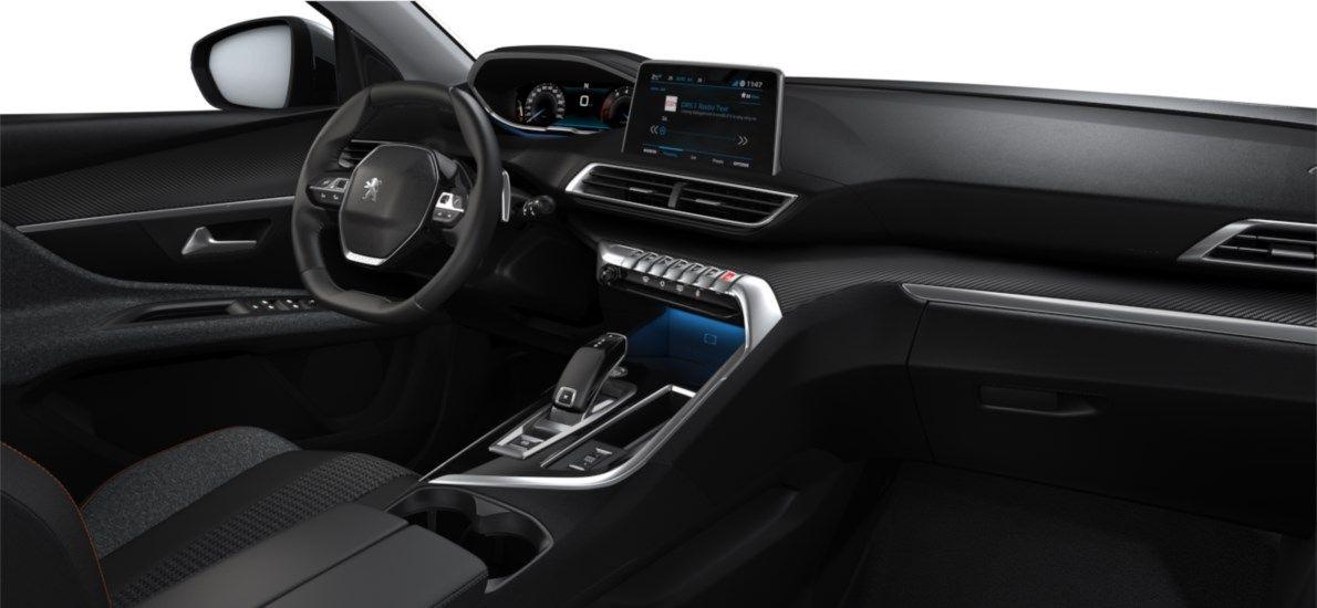 Nieuw Peugeot 5008 SUV Active Pack 1.2 PureTech 130 ch ?6.3 EAT8 Gris Artense (M0F4) 11