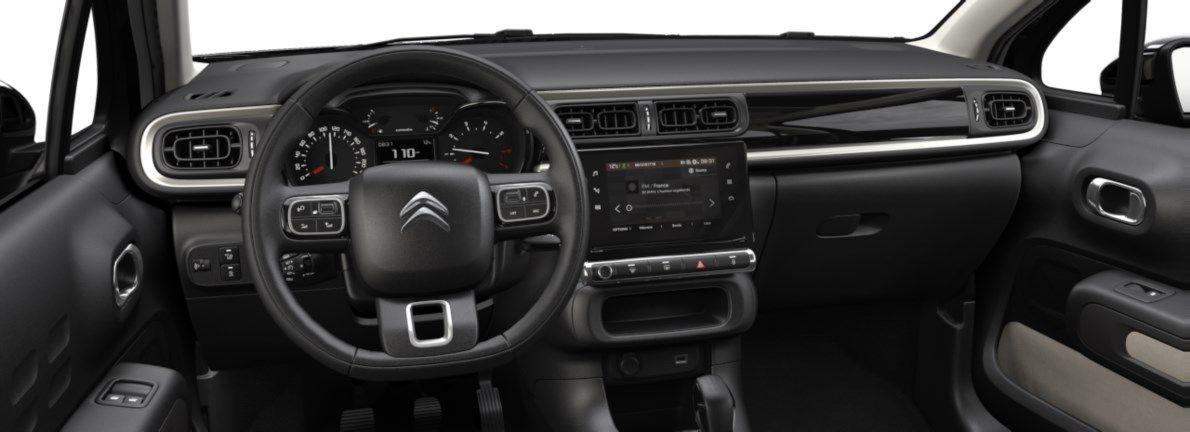 Nieuw Citroen C3 5 portes Feel. 1.2 PureTech 82 S&S BVM S&S Gris Artense (M0F4) 10