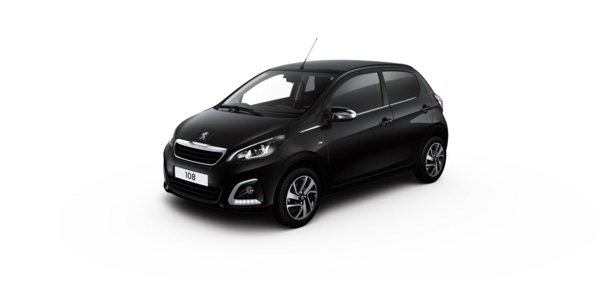 Nieuw Peugeot 108 Top! 5 portes Allure_ 1.0 VTi 72 ch BVM S&S Noir Caldera (M0XZ) 5