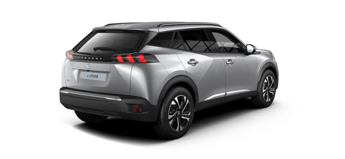 Nieuw Peugeot New 2008 SUV Allure Pack Electrique e- AUTOMATIQUE A REDUCT Gris Artense (M0F4) 5