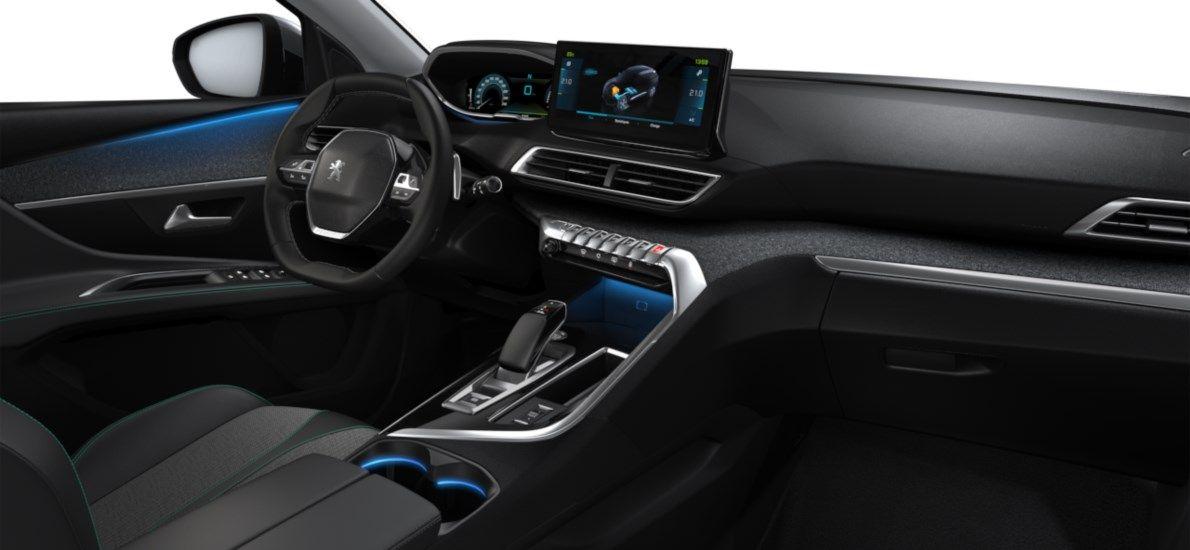 Nieuw Peugeot 3008 SUV Allure Pack Hybride Hybrid 225 ch 4X2 AUTOMATIQUE 8 RA Gris Artense (M0F4) 11