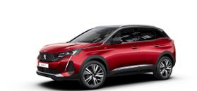 New Peugeot 3008 SUV GT Pack 1.2 PureTech 130 ch ?6.3 EAT8 Rouge Ultimate (M5F3)