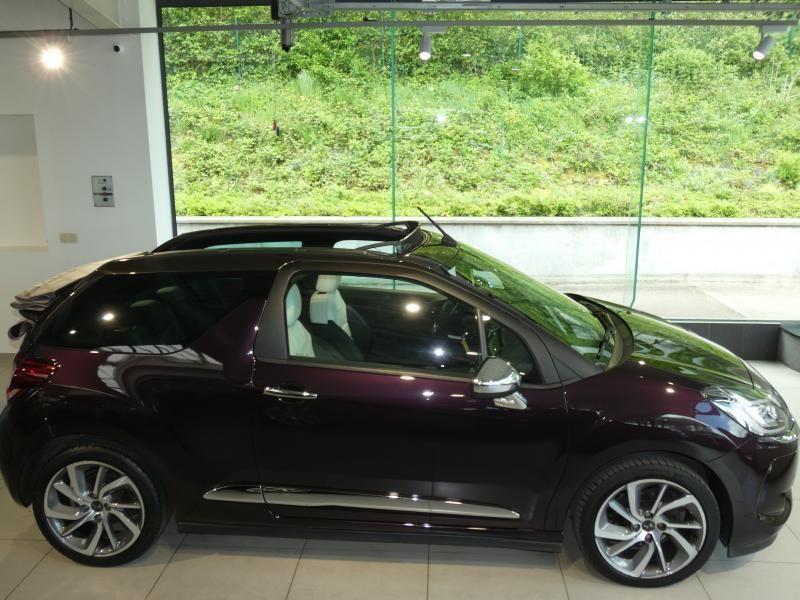 Occasie ds automobiles DS 3 Cabrio SPORT AUTO Burgundy (BURGUNDY) 2