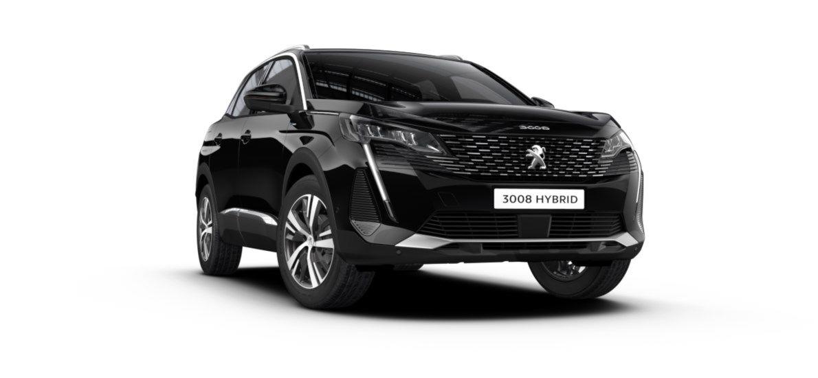 Nieuw Peugeot 3008 SUV Allure Pack Hybride Hybrid 225 ch 4X2 AUTOMATIQUE 8 RA Noir Perla Nera (M09V) 6