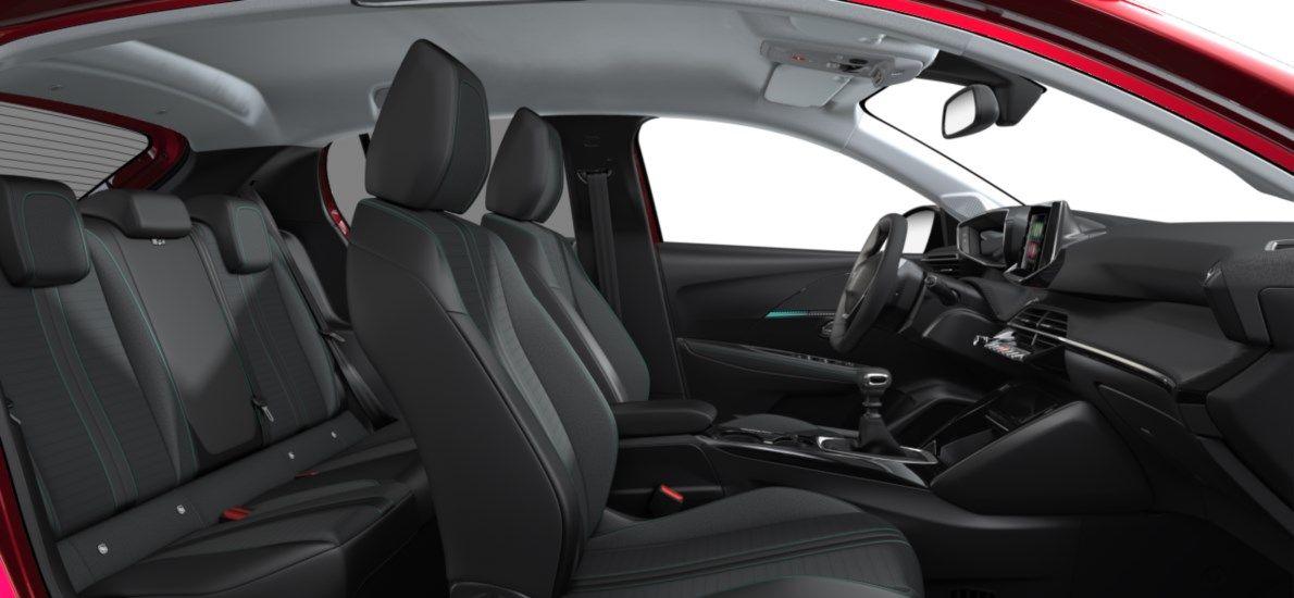 Nieuw Peugeot New 208 Berline 5 portes Allure Pack 1.2 PureTech 100ch S&S Manuelle 6 vitesses Rouge Elixir (M5VH) 12