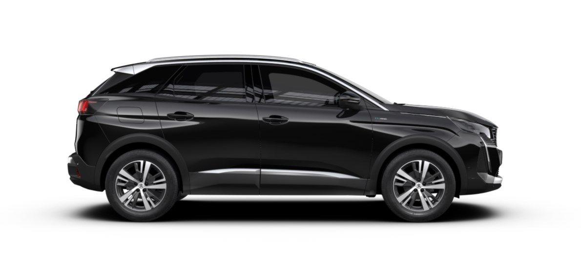 Nieuw Peugeot 3008 SUV Allure Pack Hybride Hybrid 225 ch 4X2 AUTOMATIQUE 8 RA Noir Perla Nera (M09V) 4