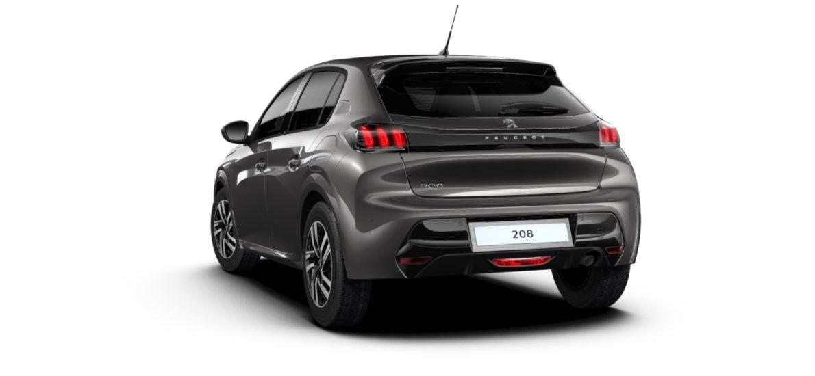 Nieuw Peugeot New 208 Berline 5 portes Allure Pack 1.2 PureTech 100ch S&S Manuelle 6 vitesses Gris Platinium (M0VL) 5