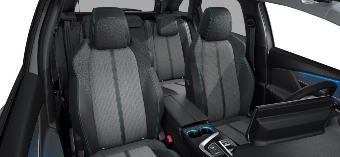Nieuw Peugeot 3008 SUV Allure Pack Hybride Hybrid 225 ch 4X2 AUTOMATIQUE 8 RA Gris Artense (M0F4) 12