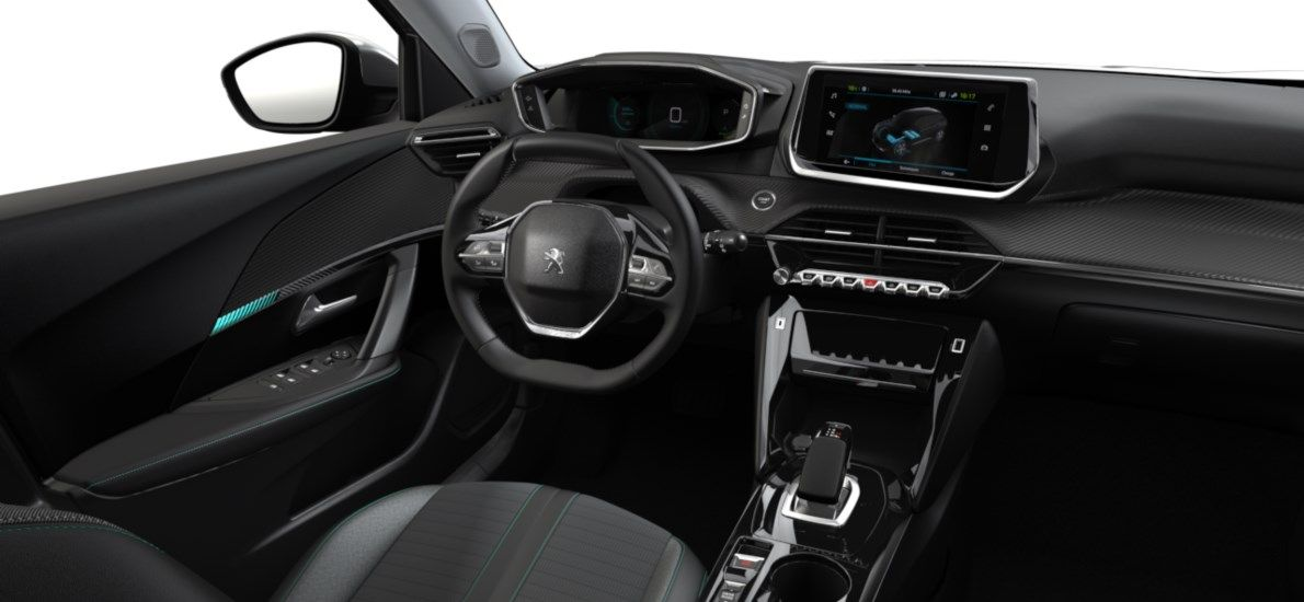 Nieuw Peugeot New 2008 SUV Allure Pack Electrique e- AUTOMATIQUE A REDUCT Gris Artense (M0F4) 10