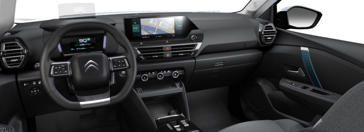 Nieuw Citroen New C4 BERLINE 5 PORTES HAUTE MOYENNE MEL ZAE BATTERIE S AUTOMATIQUE A REDUCT Gris Platinium (M0VL) 10