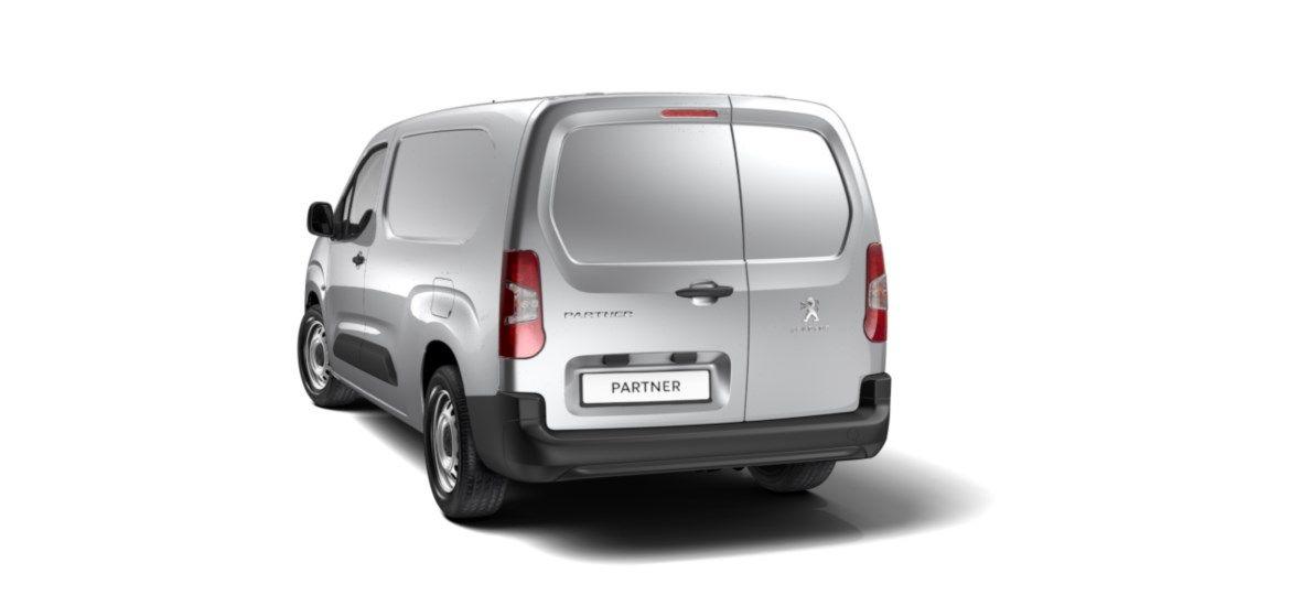 Nieuw Peugeot Partner Long Heavy Premium 1.5 BlueHDi 130ch S&S S&S Manuelle 6 vitesses Gris Platinium (M0VL) 3