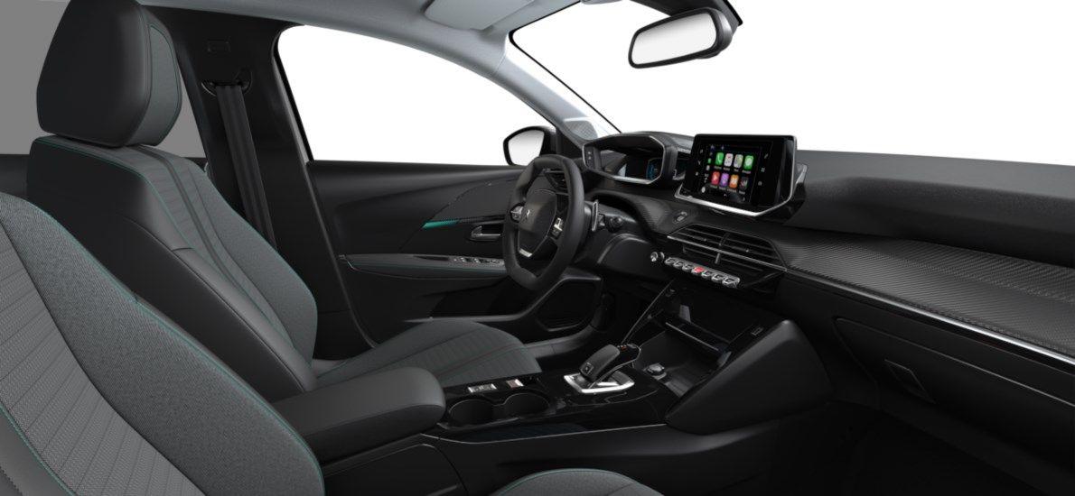 Nieuw Peugeot New 208 Berline 5 portes Allure Pack 1.2 PureTech 100ch EAT8 Blanc Nacré (M6N9) 11