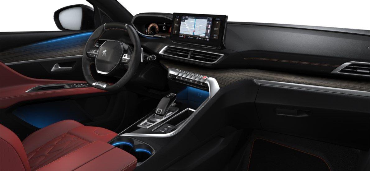Nieuw Peugeot 3008 SUV GT 1.5 BlueHDi 130 ch EAT8 Noir Perla Nera (M09V) 11