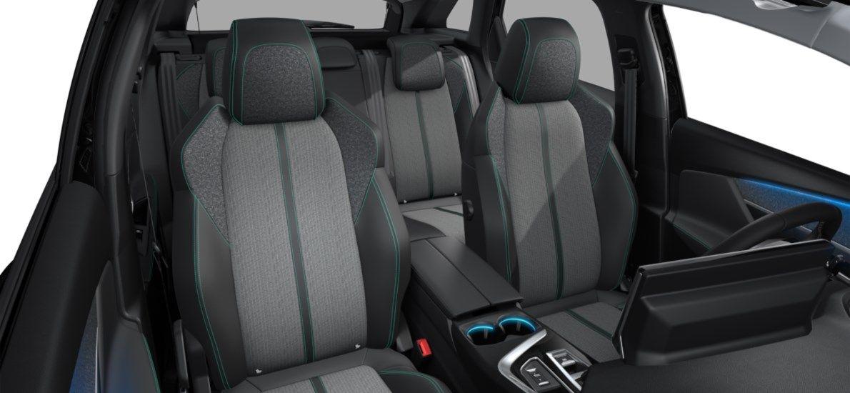 Nieuw Peugeot 3008 SUV Allure Pack Hybride Hybrid 225 ch 4X2 AUTOMATIQUE 8 RA Noir Perla Nera (M09V) 12