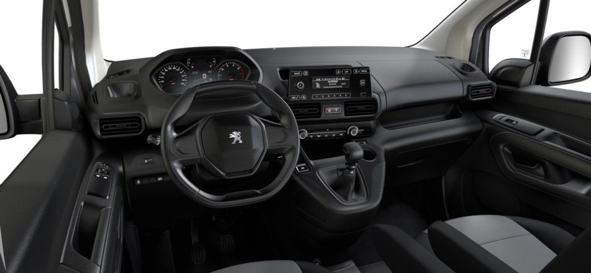 Nieuw Peugeot Partner Long Heavy Premium 1.5 BlueHDi 130ch S&S S&S Manuelle 6 vitesses Blanc Banquise (P0WP) 11