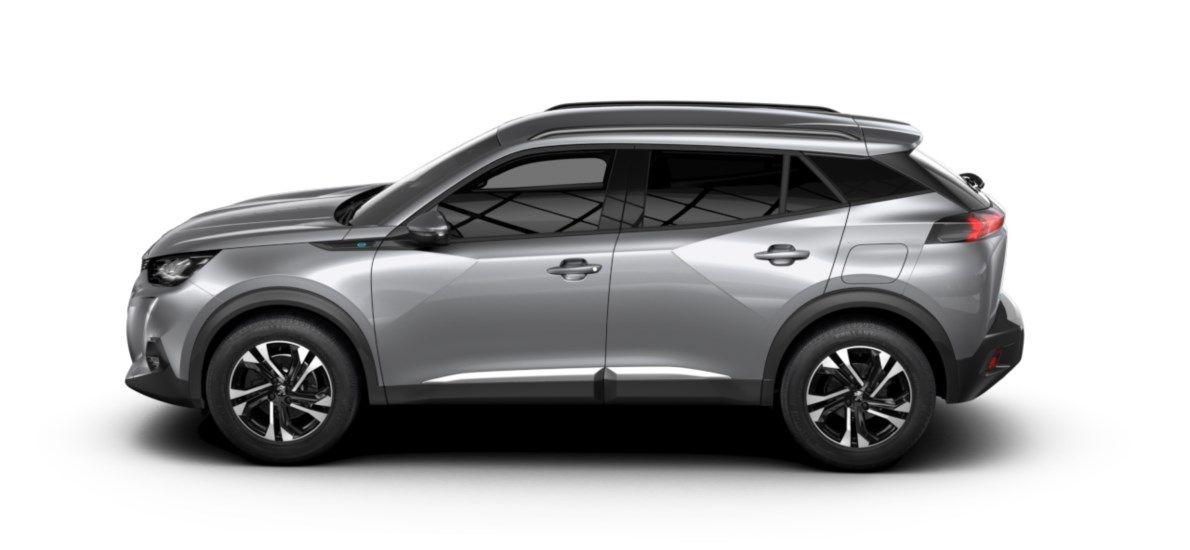 Nieuw Peugeot New 2008 SUV Allure Pack Electrique e- AUTOMATIQUE A REDUCT Gris Artense (M0F4) 3