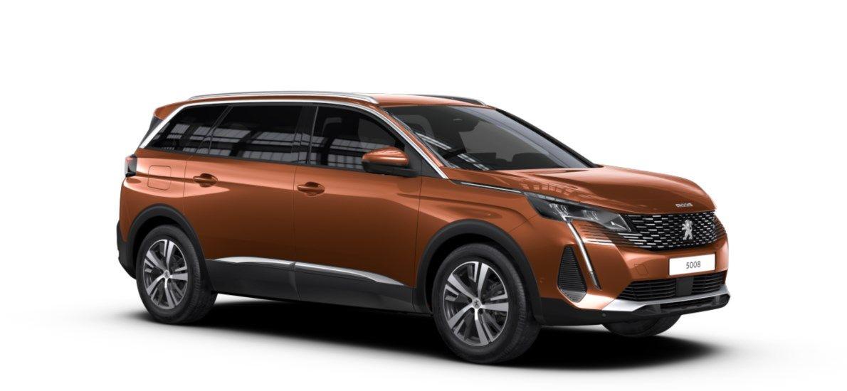 Nouveau Peugeot 5008 SUV Allure Pack DV5RC/UE63 1.5L DIES EAT8 Metallic Copper (M0LG) 5
