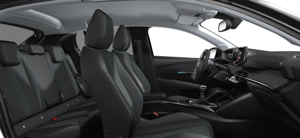Nieuw Peugeot New 208 Berline 5 portes Allure Pack 1.2 PureTech 100ch S&S Manuelle 6 vitesses Gris Platinium (M0VL) 12