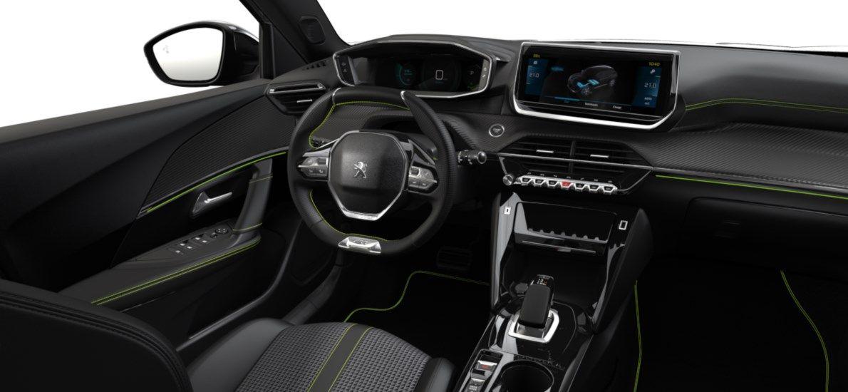 Nieuw Peugeot New 2008 SUV GT Electrique e- AUTOMATIQUE A REDUCT Blanc Nacré (M6N9) 10