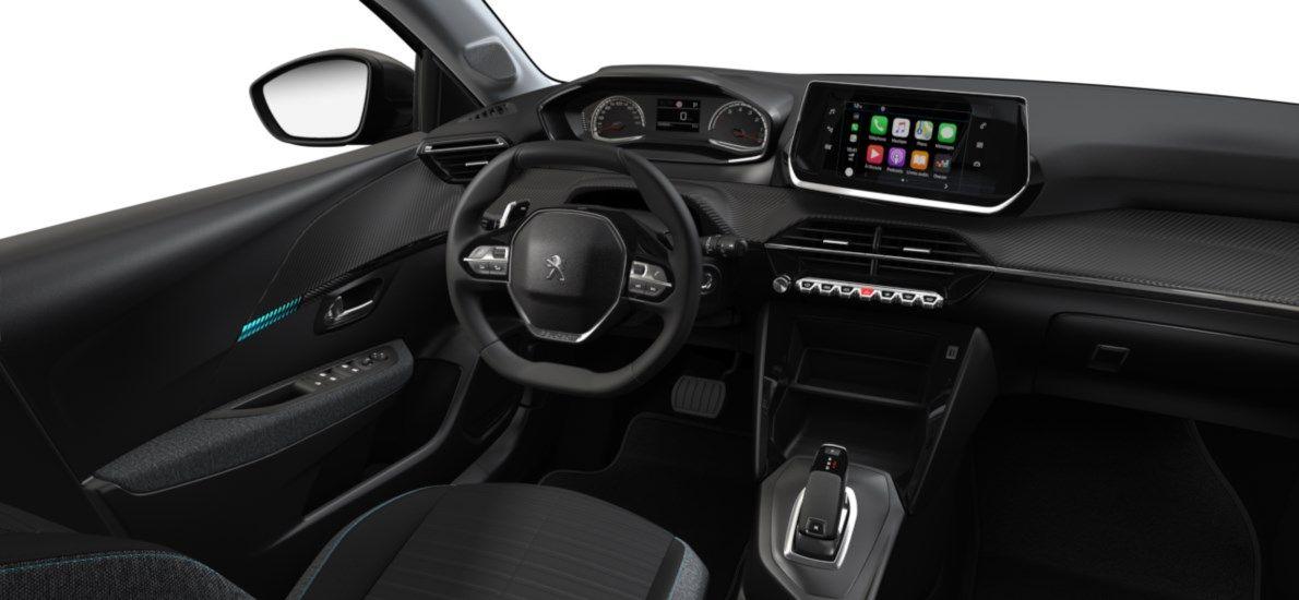 Nieuw Peugeot New 208 Berline 5 portes Active Pack 1.2 PureTech 100ch EAT8 Gris Platinium (M0VL) 10