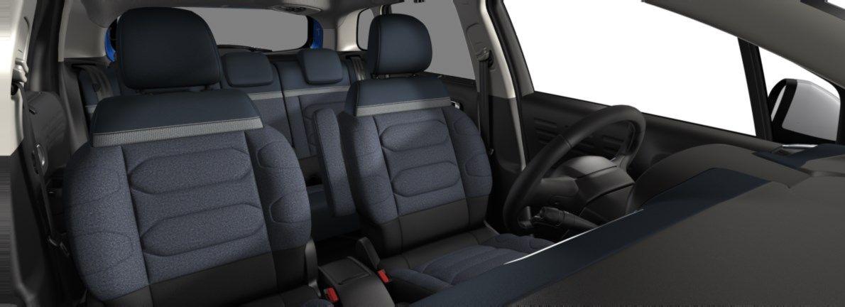 Nieuw Citroen SUV C3 Aircross BERLINE FAMILIALE SUPERIEURE BASSE DV5RCE/UE63 1.5L DIE S&S Manuelle 6 vitesses Voltaic Blue (M0AV) 12