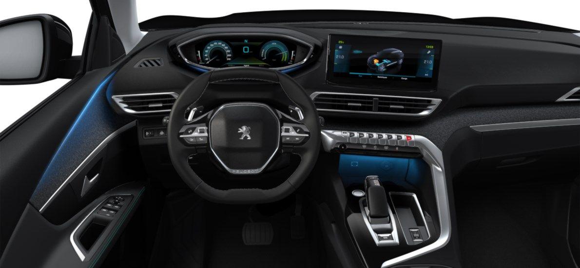 Nieuw Peugeot 3008 SUV Allure Pack Hybride Hybrid 225 ch 4X2 AUTOMATIQUE 8 RA Noir Perla Nera (M09V) 10