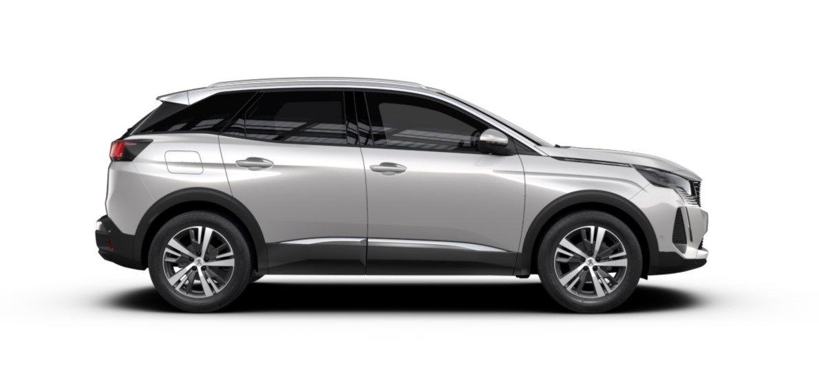 Nieuw Peugeot 3008 SUV Allure Pack Hybride Hybrid 225 ch 4X2 AUTOMATIQUE 8 RA Gris Platinium (M0VL) 4