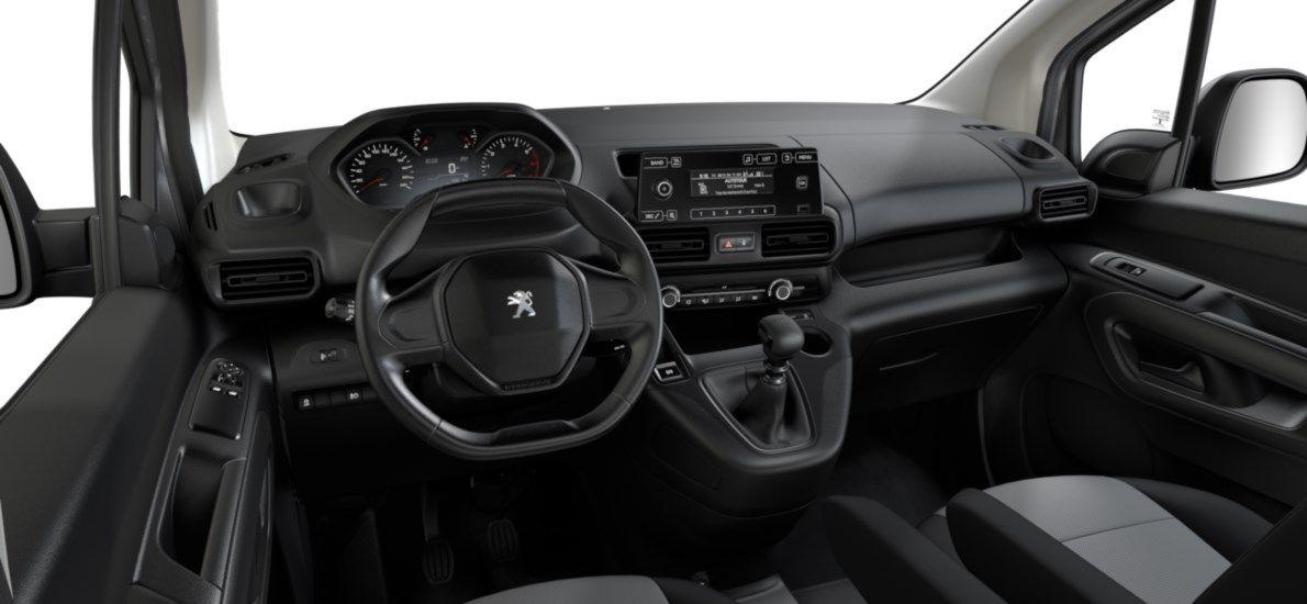 Nieuw Peugeot Partner Long Heavy Premium 1.5 BlueHDi 130ch S&S S&S Manuelle 6 vitesses Gris Platinium (M0VL) 11