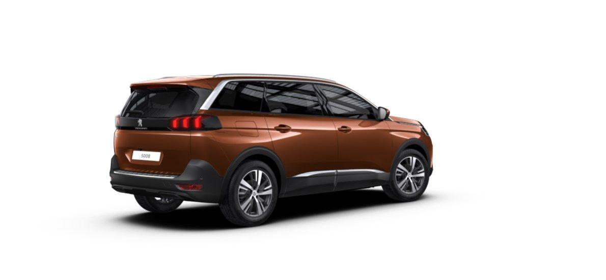 Nouveau Peugeot 5008 SUV Allure Pack DV5RC/UE63 1.5L DIES EAT8 Metallic Copper (M0LG) 2