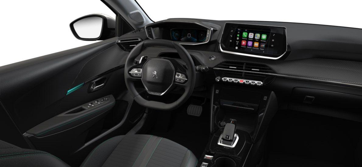 Nieuw Peugeot New 208 Berline 5 portes Allure Pack 1.2 PureTech 100ch EAT8 Blanc Nacré (M6N9) 10