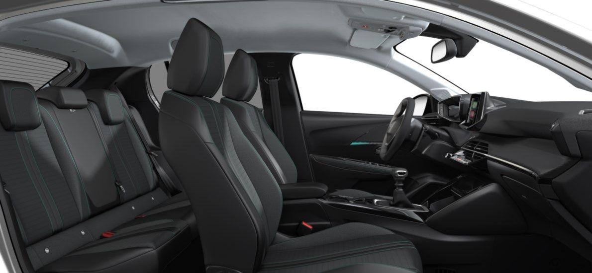 Nieuw Peugeot New 208 Berline 5 portes Allure Pack 1.2 PureTech 100ch S&S Manuelle 6 vitesses Blanc Nacré (M6N9) 12