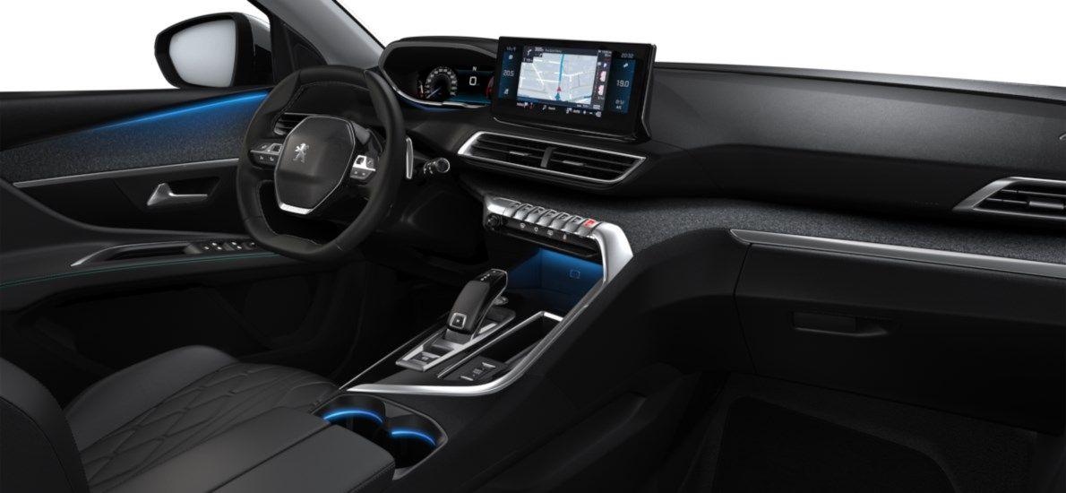 Nieuw Peugeot 3008 SUV Allure Pack Hybride Hybrid 225 ch 4X2 AUTOMATIQUE 8 RA Gris Platinium (M0VL) 11