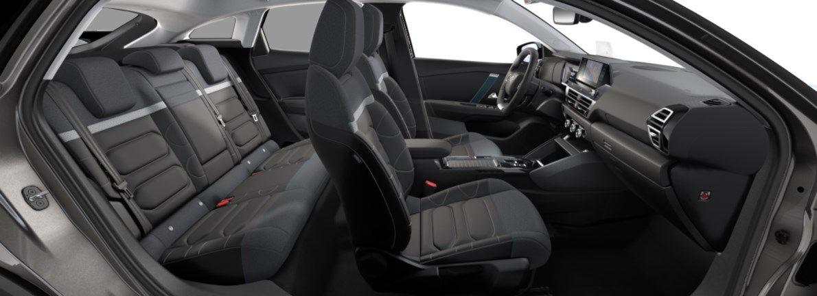 Nieuw Citroen New C4 BERLINE 5 PORTES HAUTE MOYENNE MEL ZAE BATTERIE S AUTOMATIQUE A REDUCT Gris Platinium (M0VL) 12