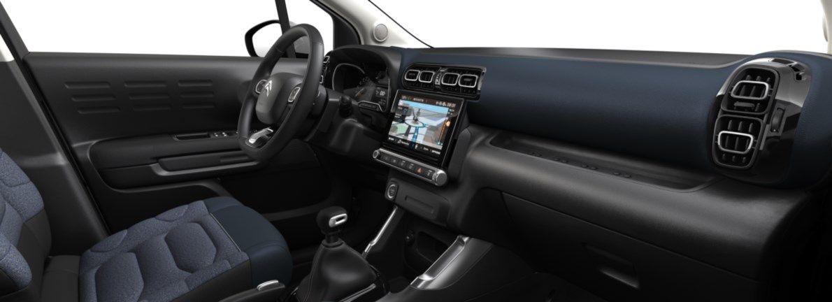 Nieuw Citroen SUV C3 Aircross BERLINE FAMILIALE SUPERIEURE BASSE DV5RCE/UE63 1.5L DIE S&S Manuelle 6 vitesses Voltaic Blue (M0AV) 11