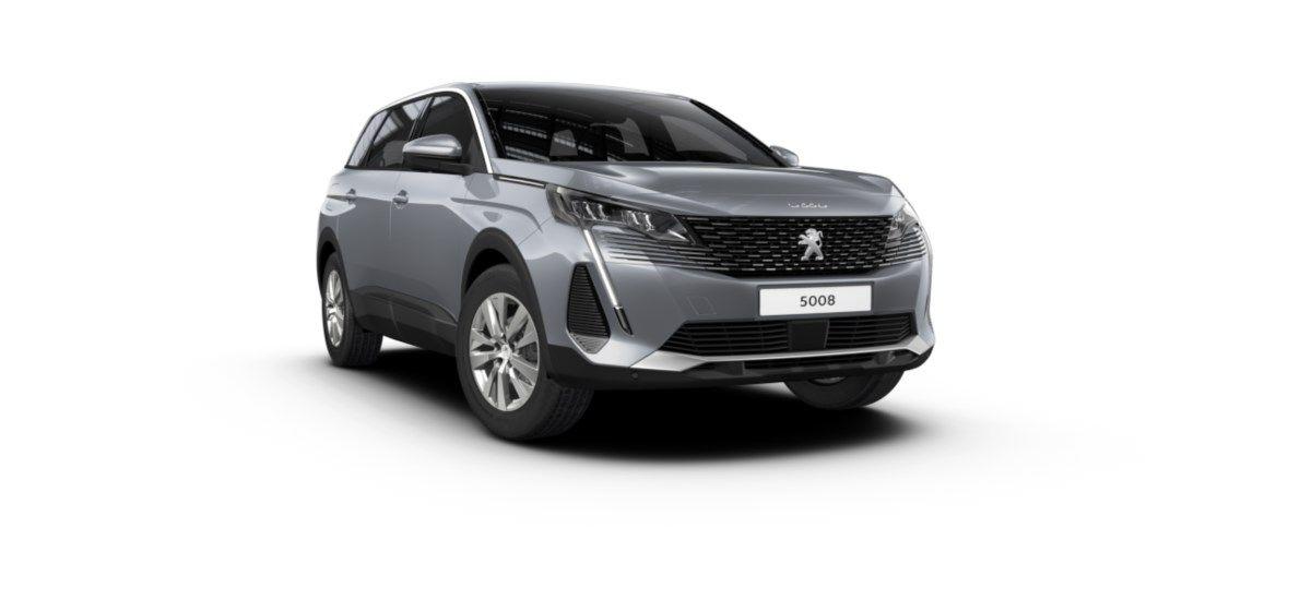 Nieuw Peugeot 5008 SUV Active Pack 1.2 PureTech 130 ch ?6.3 EAT8 Gris Artense (M0F4) 6