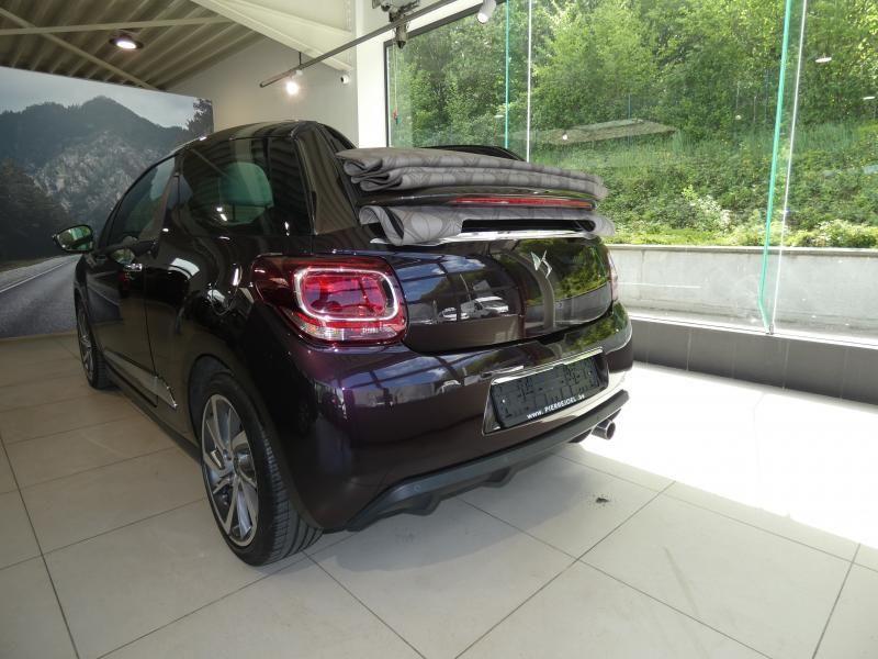 Occasie ds automobiles DS 3 Cabrio SPORT AUTO Burgundy (BURGUNDY) 4