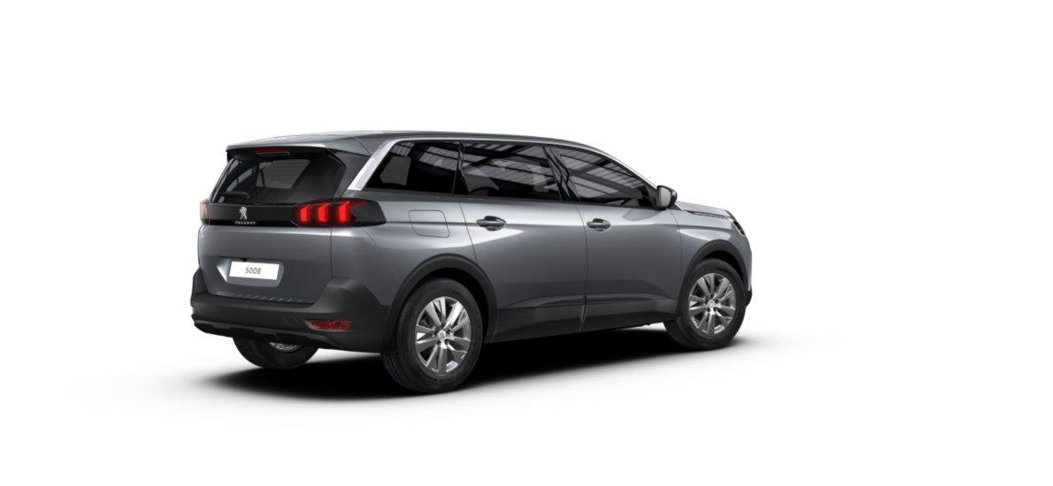 Nieuw Peugeot 5008 SUV Active Pack 1.2 PureTech 130 ch ?6.3 EAT8 Gris Artense (M0F4) 2