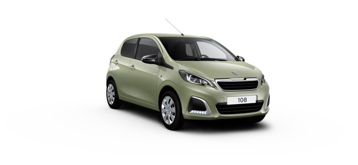 Nieuw Peugeot 108 Berline 5 portes Active 1.0 VTi 72 ch BVM S&S Smooth Green (M0NF) 12