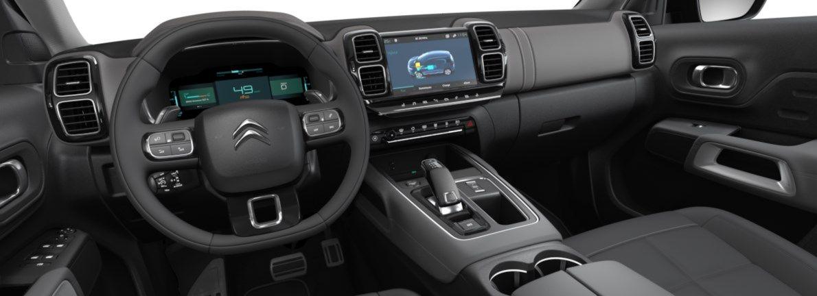 Nieuw Citroen SUV C5 Aircross SUV Shine EP6FADTXHP 1.6L ESS 4X2 AUTOMATIQUE 8 RA Gris Platinium (M0VL) 10