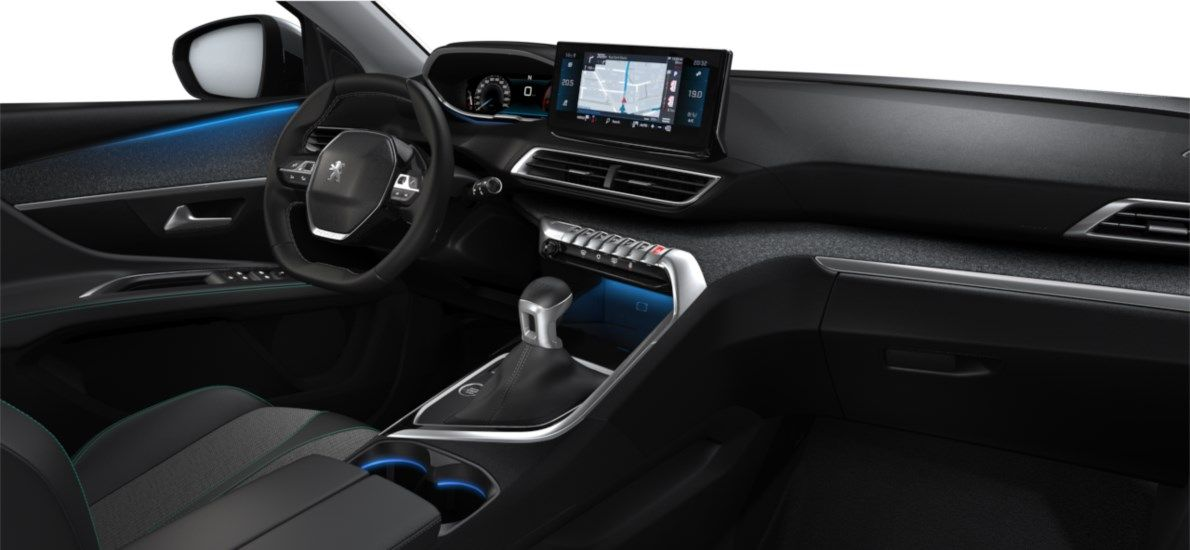 Nieuw Peugeot 5008 SUV Allure Pack DV5RC/UE63 1.5L DIES S&S Manuelle 6 vitesses Gris Artense (M0F4) 11