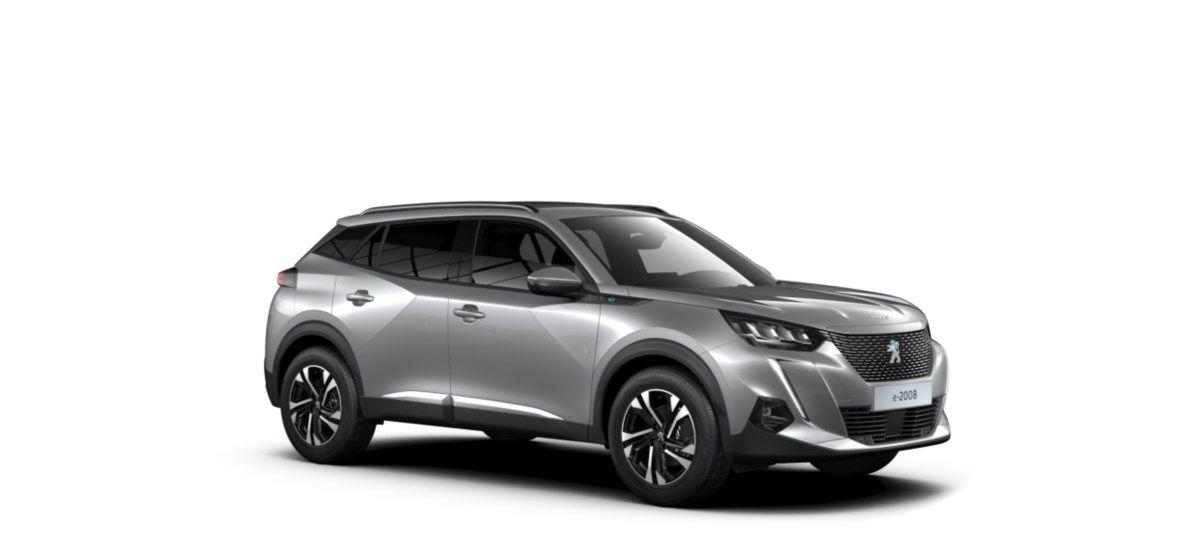 Nieuw Peugeot New 2008 SUV Allure Pack Electrique e- AUTOMATIQUE A REDUCT Gris Artense (M0F4) 7