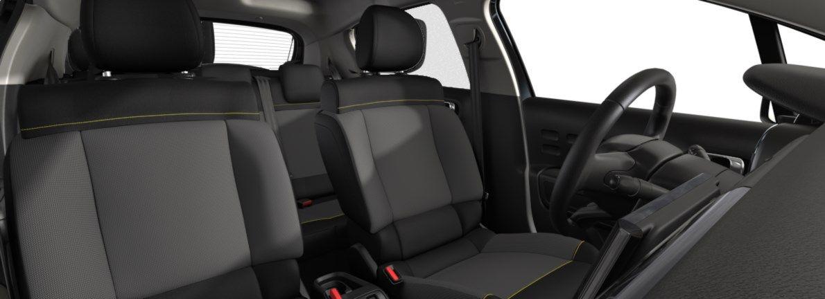 Nieuw Citroen C3 5 portes Feel. 1.2 PureTech 82 S&S BVM S&S Gris Artense (M0F4) 12