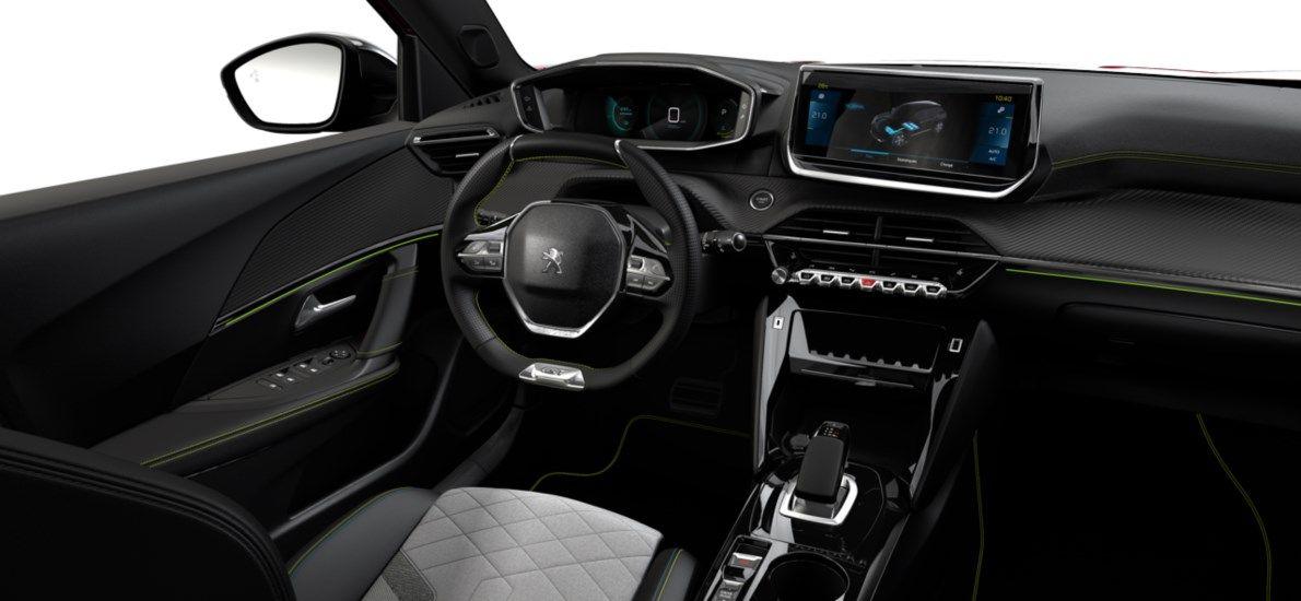 Nieuw Peugeot New 2008 SUV GT Electrique e- AUTOMATIQUE A REDUCT Rouge Elixir (M5VH) 10