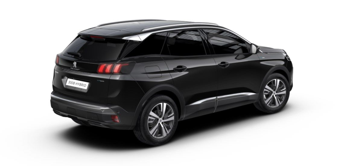 Nieuw Peugeot 3008 SUV Allure Pack Hybride Hybrid 225 ch 4X2 AUTOMATIQUE 8 RA Noir Perla Nera (M09V) 2
