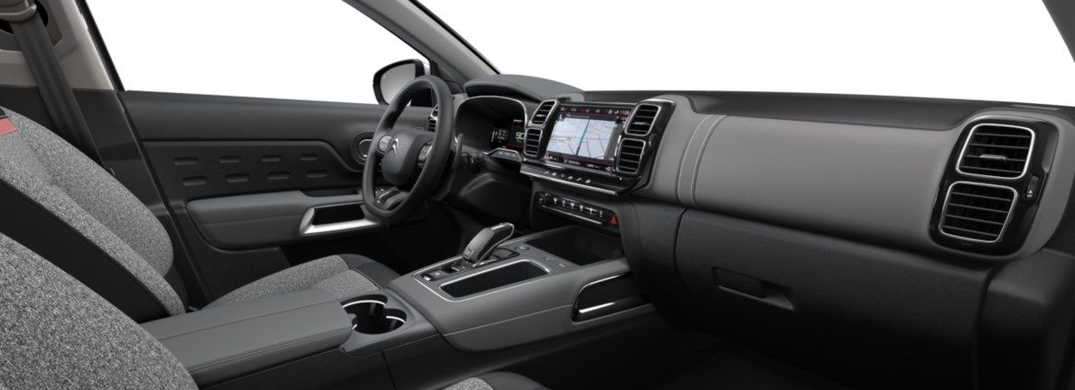 Nieuw Citroen SUV C5 Aircross SUV Feel Hybride DV5RC/UE63 1.5L DIES EAT8 Gris Platinium (M0VL) 11