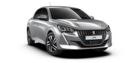 New Peugeot New 208 Berline 5 portes Allure Pack 1.2 PureTech 100ch S&S Manuelle 6 vitesses Gris Artense (M0F4)