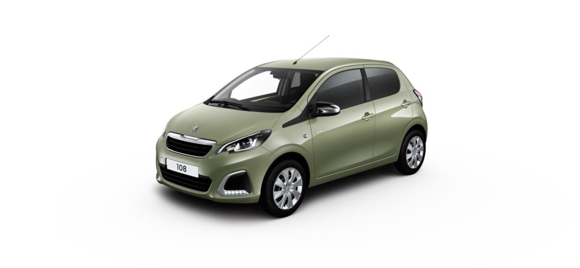 Nieuw Peugeot 108 Berline 5 portes Active 1.0 VTi 72 ch BVM S&S Smooth Green (M0NF) 5